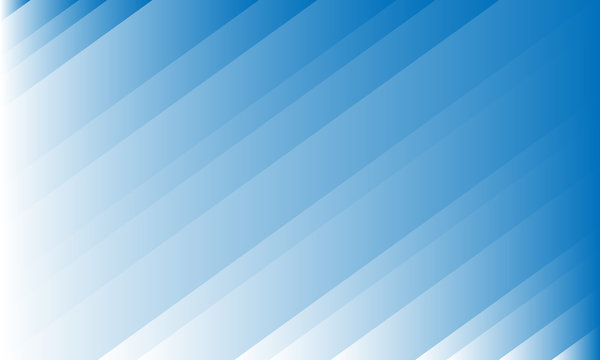 Abstract light white blue striped gradient