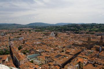 Panorama miasta - Florencja, Toskania, Wlochy