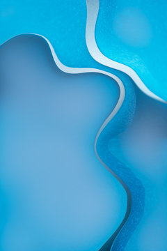 Blue fluid new abstract background