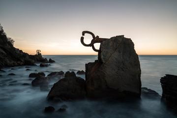 sea water peine del viento Fotobehang