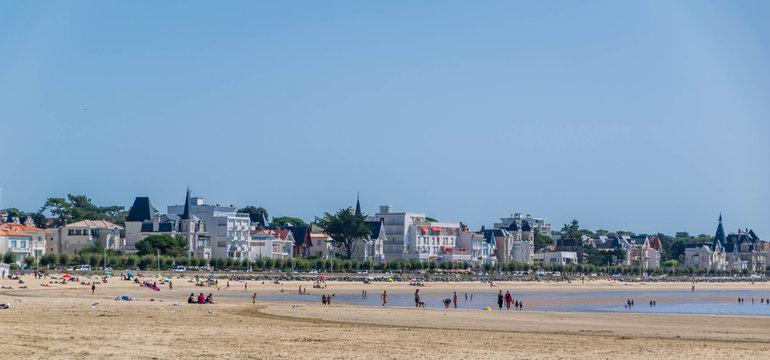 Royan et Vaux-sur-Mer, Charente-Maritime, Nouvelle-Aquitaine, France.