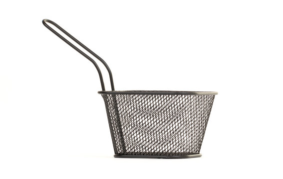 Small wire frying basket