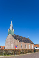 Fotomurales - Historic Haghakerk church in the center of Heeg, Netherlands