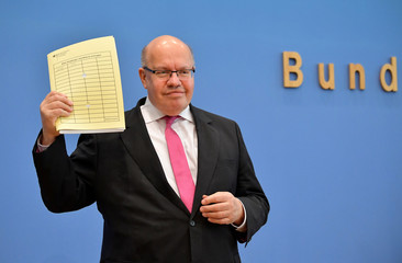 German Economy Minister Altmaier updates GDP growth forecast