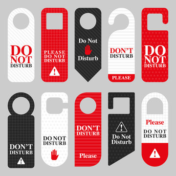 DO NOT DISTURB HANGERS