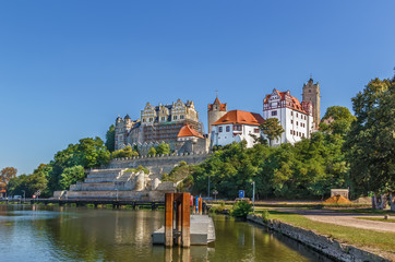 Fototapete - Castle in Bernburg, Germany