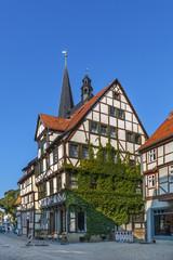 Fotomurales - Street in Quedlinburg, Germany