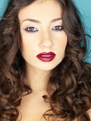 Foto op Textielframe womenART Young beautiful woman