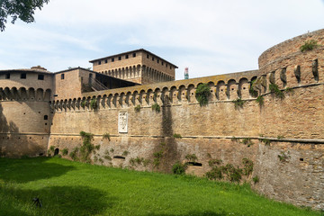 Wall Mural - Castle of Forli, Emilia Romagna