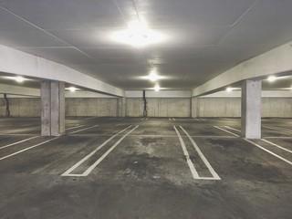 Empty Parking Lot Fototapete