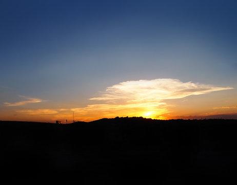 Sunset Trucker