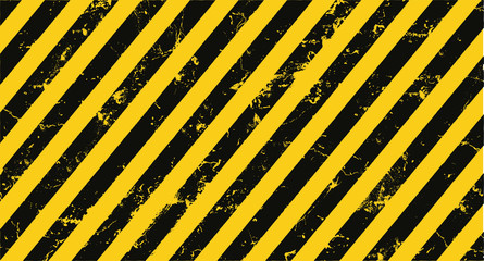 yellow hazard stripes