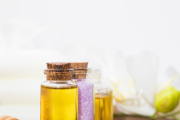 natural and aromatic spa and massage oils