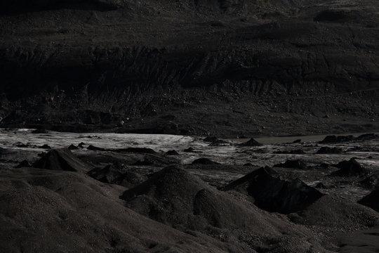 Black Glacier in Iceland