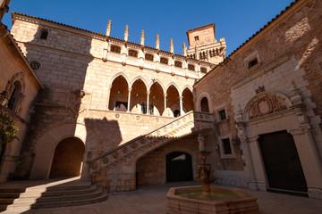 Gebäude, Fassaden und Gassen in Palma, Mallorca Spanien Fotomurales