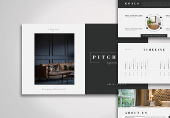Pitch Deck Layout