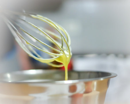 Close-up Of Wire Whisk