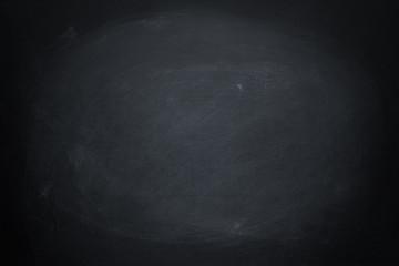 Fototapete - dark texture chalk board and grunge black board background