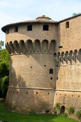 Fototapete - Castle of Forli, Emilia Romagna