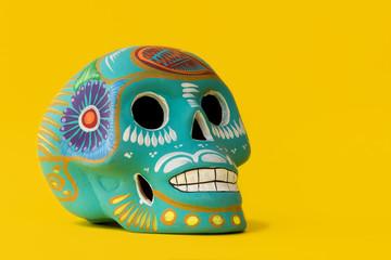Mexican skull Wall mural