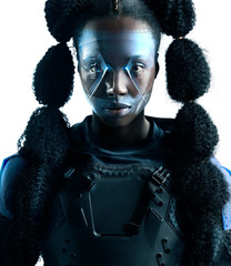 Afrofuturism - female hero