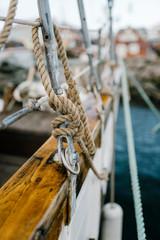 Details of sailing ship