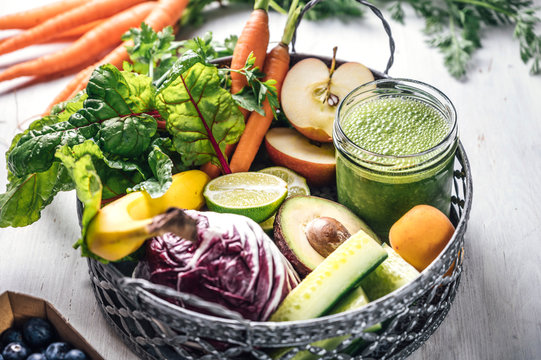 Food: Green smoothie