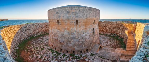 antigua fortificación en ciutadella menorca