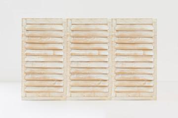 Textura madera azul celeste estilo ventana veneciana