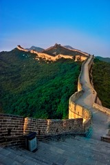 Photo sur Aluminium Muraille de Chine The great wall of china