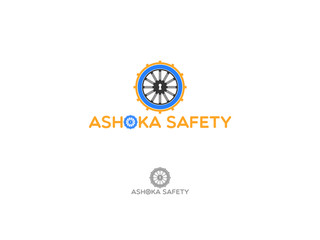A fictional safety and security company logo designed in illustrator that is suitable for security company, banks, safety vaults, etc.