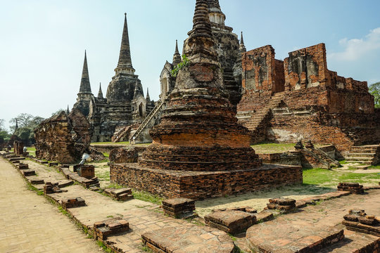 Wat Phra Si Sanphet was the holiest temple on the site of the old Royal Palace in Thailand's ancient capital of Ayutthaya