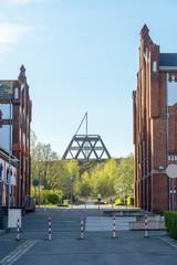Stillgelegte Zeche Waltrop, Route der Industriekultur, Ruhrgebiet, Deutschland