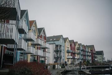 Schwedenhäuser in Greifswald