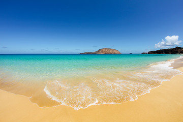 Las Conchas Beach, Canary Islands, Spain