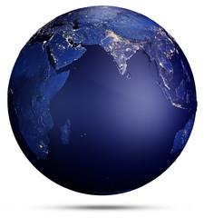 Fototapete - Planet Earth concept. 3d rendering