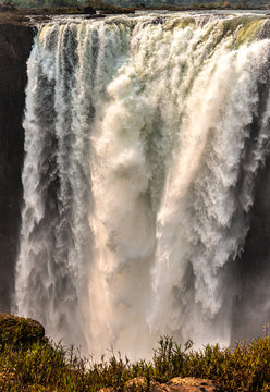 Victoria Falls (Mosi-oa-Tunya), view from Zimbabwe side