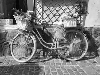 Photo sur Aluminium Vintage bicycle close up photography.