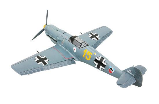 Messerschmitt 109E-3 aeroplane. Model