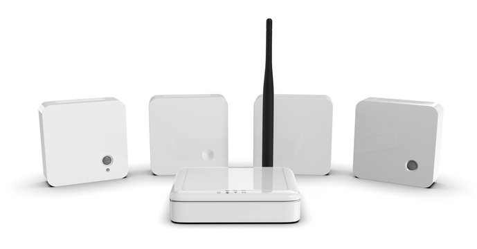 Internet of Things sensors and gateway
