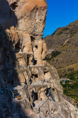 Fotomurales - cave monastery Vardzia Samtskhe Javakheti Georgia Europe landmark