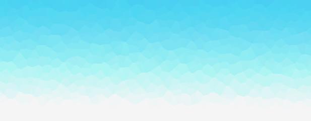 Fototapeten Licht blau Geometric light blue representing water, sea, beach, waves, ripples, etc. 水、海、ビーチ、波、波紋などを表現する幾何学的な青