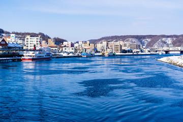 Fotomurales - 道東地方の網走港