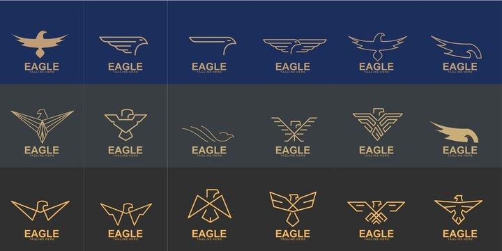 Set of Eagle logo