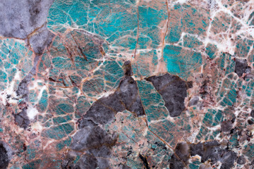 Wall Mural - Expensive quartzite background in your admirable blue tones for design.