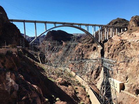 Mike Ocallaghan Pat Tillman Memorial Bridge At Hoover Dam