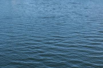 凪の河川面