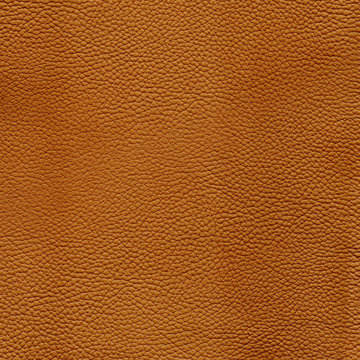 Orange detailed background texture of leather