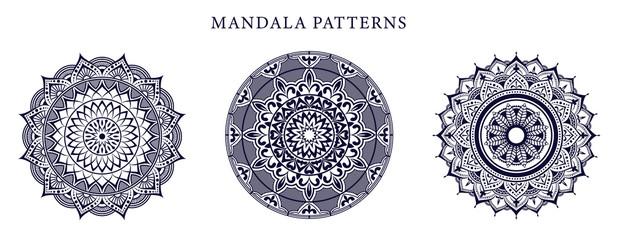 Ornamental luxury mandala pattern design