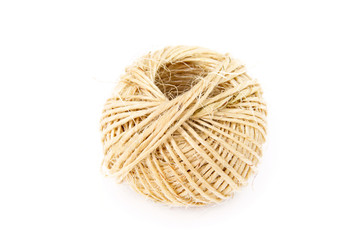 Skein of twine stock image. Image of home, natural, string